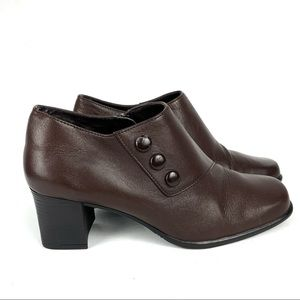 Laura Scott Samantha Ankle Block Heeled Boots 6.5